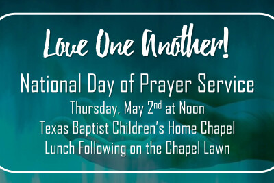 National Day of Prayer | May 2 | 12 pm