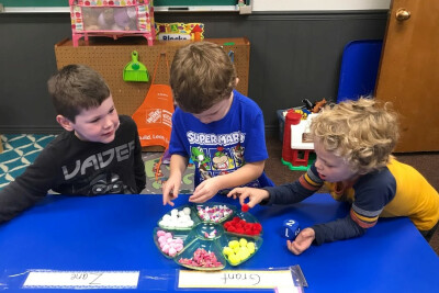 Kindergarten Readiness  at Palm Valley Preschool