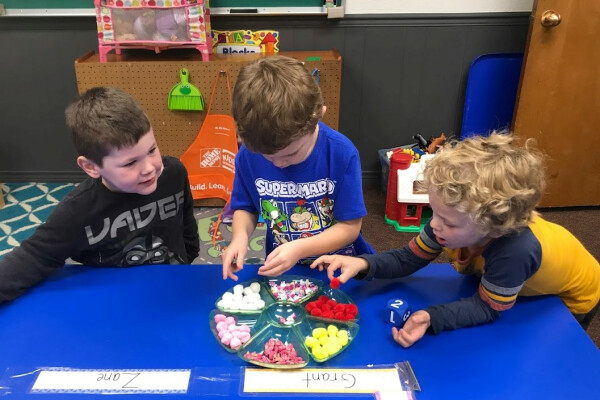 Kindergarten Readiness  at Palm Valley Preschool