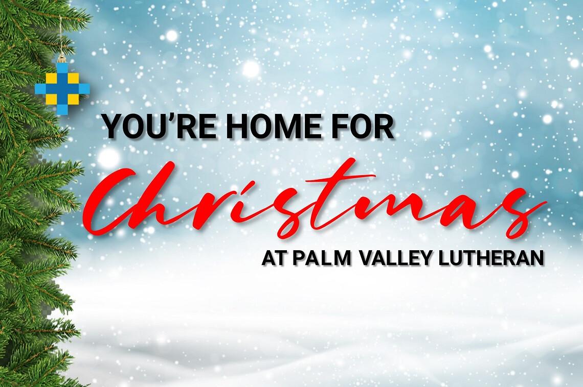 You're Home For Christmas